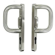 Stainless Steel Patio Door P Handles sliding lock Chrome Satin Polished upvc set