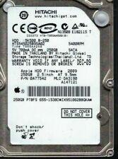 Hard disk interni Hitachi Interfaccia SATA con 250 GB di archiviazione