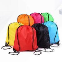 1Pcs Drawstring Backpack Cinch Sack Bags Sport Bags Personalized Bags Book Bag