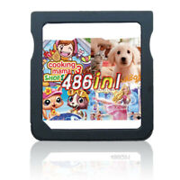486 in 1 DS Games Cartridge Gaming for DS DS Lite DSi 3DS 2DS Games Girl