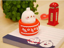 Molang Cute 3D Character 8GB USB Flash Memory Stick Drive - RED COLOR