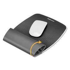 Fellowes I-Spire Wrist Rocker Mouse Pad w/Wrist Rest 7 13/16 x 10 x 1 1/16 Gray