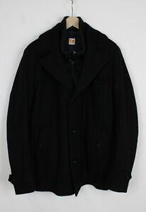 Hugo Boss Orange Label Ofanta Herren US 46R Wollmischung Doppellagig Mantel