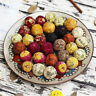 2/5/10/30X Blooming Flower Tea Handmade Ball Art Wedding Gift Herbal Tea