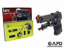 HFC Airsoft Trigger Ring Laser Set Attachment Pistol Gas Blowback GBB RIS mount