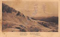 Cartolina - Postcard - Panorama di montagna -  poesia D'Annunzio - NVG