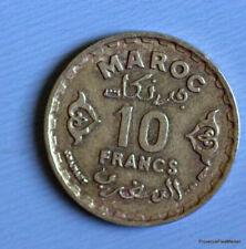 Pièces de monnaie du monde en bronze, provenance Maroc