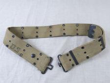 #55 original US Army ww2 caqui acoplamiento pistol Belt m36 cinturón de Depot