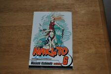 Naruto Vol 6 Forest of Death Shonen Jump Manga New Nice Japanese Anime Fast Ship