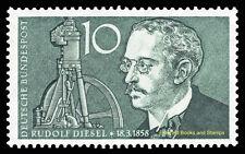 EBS Germany 1958 Rudolf Diesel Michel 284 MNH**