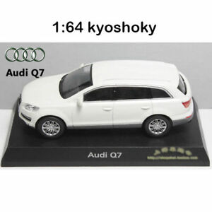 White Kyosho 1:64 AUDI Q7 Diecast Model Car Mint 1/64 2007 limited edition