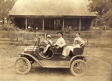 Model T Ford Tourabout 1910 Arkansas 7x5 Inch Reprint Photo