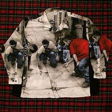 Vtg 90s KARL KANI Men's Casual Shirt 5X Dice Game Streetwear OG Hip Hop Yeezy