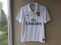 Arsenal Third football shirt 2009/2010 Jersey Size S Nike Soccer White England