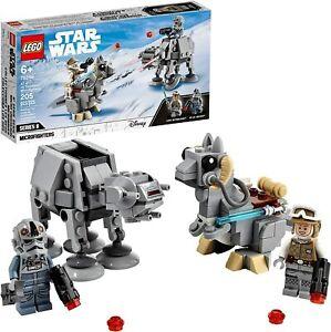LEGO Star Wars at-at vs. Tauntaun Microfighters 75298 Building Kit 2021