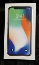 Apple iPhone X - 256GB - Silver (Factory Unlocked) IN HAND Super Fast Ship