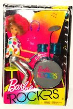 NEW Rockstar Barbie and The Rockers I LOVE THE EIGHTIES 80s