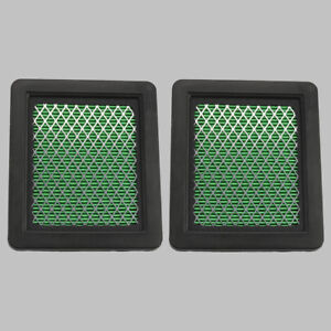 2pc Air Filter #17211-ZL8-023 For Honda GCV135 GC160 GCV160 HRR216 Lawn Mower