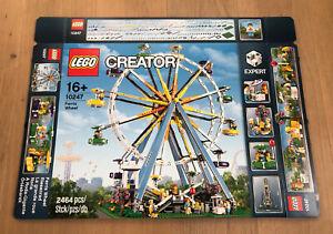 LEGO 10247 Creator Riesenrad Leerkarton/Box/Ovp NEU