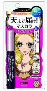 Isehan Mascara Kiss Me Heroine Make Long and Curl Waterproof Black 6g 4901433039