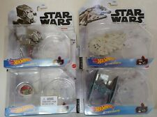 NEW Hot Wheels Star Wars Starships with Stand - Lot of 4