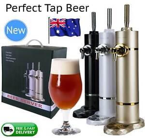 NEW Beer Server Dispenser Premium Super Draft Malts Can Bottle Grand Craft Gift