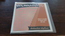 Kitty, Daisy & Lewis Don´t make a Fool out of Me Promo CD