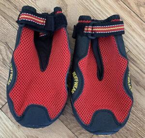 Ruffwear Grip Trex Dog Boots 1 Pair All-Terrain Vibram Outsole XXL 2XL Red