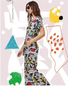 """🛑 New Gorman x Julia Flanagan  """"ON A WHIM"""" Pantsuit Jumpsuit Size AUS 12-14 🛑"""