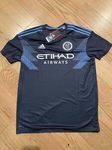 Adidas NEW YORK CITY FC AWAY JERSEY Sz S BNwT CE3257 MLS Soccer