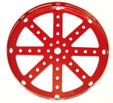 """Meccano Part 118 Hub Disk 5½"""" Red"""