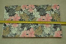 "By-the-Half-Yard, 46"" Wide, Vintage Hawaiian Floral Cotton, M3737"