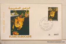 MAROC premier jour d emission  FLORE MAROCAINE    2002  MA41