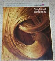 1967 vintage ad - Clairol Kindness hair conditioner PRINT 1-PAGE Advertising