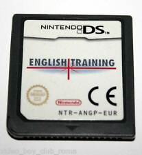 ENGLISH TRAINING GIOCO USATO DS & 3DS EDIZIONE ITALIANA SOLO CARTUCCIA
