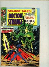 Strange Tales #162-1967 vg+ Nick Fury Doctor Strange