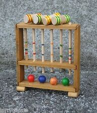 Croquet Set Miniatures for your Model Train Display - 1/18 Scale Dioramas