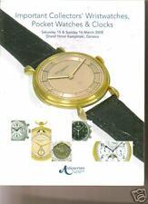 ANTIQUORUM WATCHES Patek Panerai Rolex Breguet Nardin Auction Catalog 2008