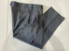 Jos. A. Bank Men's Blue Solid Polyester Dress Pants 38X29 $125