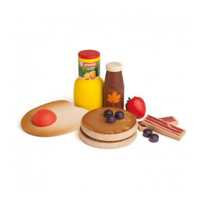 Erzi 28150 American Breakfast Set for Stores and Children's Kitchen New! #