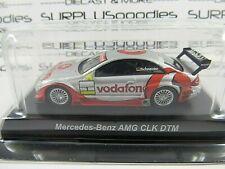 KYOSHO 1:64 Scale Silver MERCEDES-BENZ AMG CLK DTM Vodafone Mobil1 w/Plastic Box