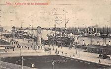 AK Stettin (Szczecin) in Polen Hafen Schiffe Dampfer 1912