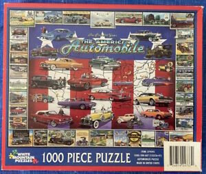 White Mountain Puzzle 1000 Large Piece Puzzle The American Automobile