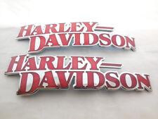HARLEY DAVIDSON EMBLEMA SERBATOIO TARGHETTA CROMO 14100710baca 709baca