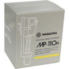 NAGAOKA MP-110H Cartridge+Headshell from JAPAN with tracking