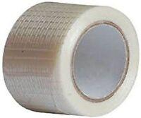 50M Fiberglass Tape Glass Fiber Plain  Roll Joint Strap 1 Roll Anti Scuff