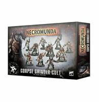 Games Workshop Necromunda Corpse Grinder Cult Spare Parts Job Lot 40K Warhammer