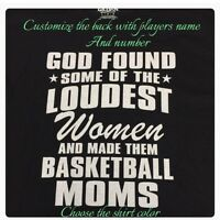 Basketball Mom T-Shirt Personalized New Basketball Assorted Colors