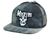 MISFITS Stone Wash Mesh Hat Snap Back PuNk RoCk Band Merch Cyclopian Music Inc