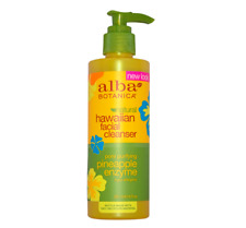 Alba Botanica Pineapple Facial Cleanser removes make-up skin care vegan